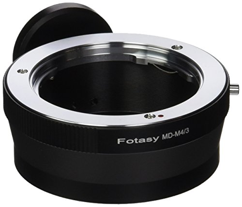 Fotasy AMMDT Minolta MD MC Mount Lens to Micro 4/3 System Camera Mount Adapter and Tripod Mount by Fotasy