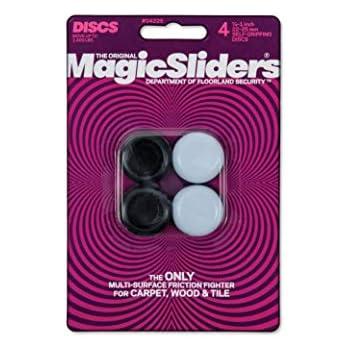 "MAGIC SLIDERS L P 4225 4 Pack 7/8""-1"" RND Slider"