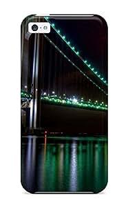 XiFu*MeiPerfect Fit FPCzJIh14080uFOum The Golden Gate Bridge Night View Case For Iphone -iphone 4/4sXiFu*Mei