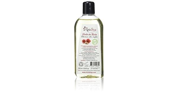 manelya aceite de ricino Bio 200 ml: Amazon.es: Belleza