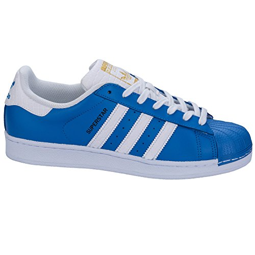 Adidas Bleu Unisex Superstar Adidas Superstar Zapatillas XrqXxwgO