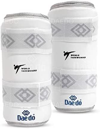 "DAEDO World Taekwondo RECOGNISED Arm Guard""SILVER FIT"" Size S"