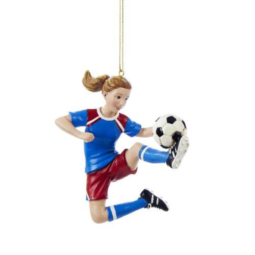 Soccer Girl Ornament -