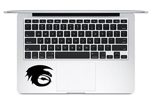 Night Fury How to Train Your Dragon Trackpad Keyboard MacBook Decal Vinyl Sticker Apple Mac Air Pro Laptop Sticker