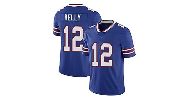 RENDONG NFL Jersey del Fútbol De Élite Bill Bordado Camiseta ...