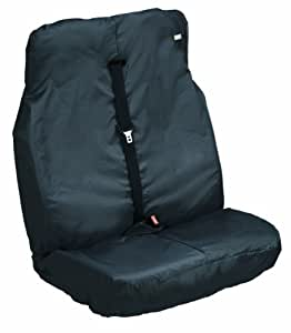 Heavy Duty Design HDD-291 Van Double - Funda de asiento doble para coche, color negro