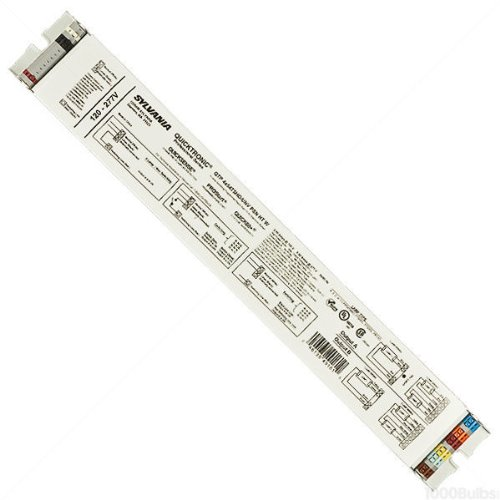 SYLVANIA Quicktronic 49161 - (4) Lamp Fluorescent Ballast - F54T5/HO - 120/277 Volt - Programmed Start - 1.0 Ballast Factor ()