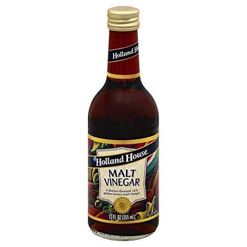 Holland House Vinegar Malt 12.0 OZ(Pack of 2) by Holland House