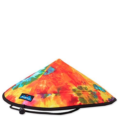 KAVU Men's Chillba Hat, Hot Tie Dye, One Size ()