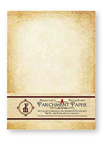 Aged Look Parchment Stationery Paper IN811AGDPK product image