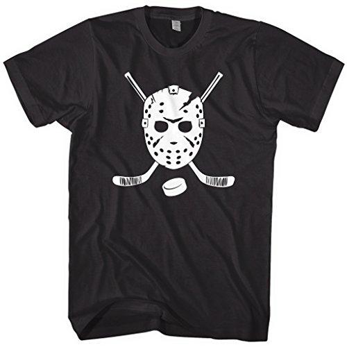 Mixtbrand Men's Goalie Mask and Hockey Sticks T-Shirt L ()
