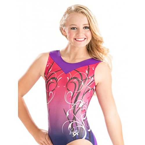 GK Elite Nastia Liukin Ever After Leotard Adult Medium AM by GK Elite
