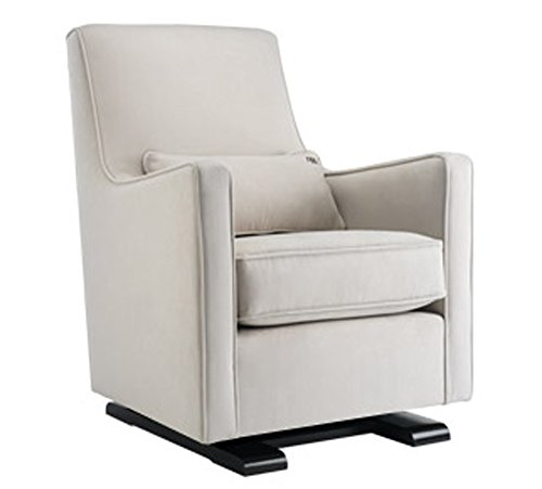 Monte Design Luca Glider Stone w/ Stone Piping, w/ Stone Lumbar Pillow by Monte Design