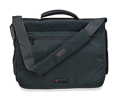 Urban Gear Messenger Bags - ECBC Zeus Series Messenger Laptop and MacBook Bag, Lightweight and Durable Designed for Men and Woman - Ideal for Travel, School, Business and Sport - Green
