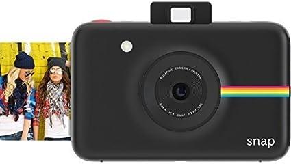 Polaroid Snap Instant Digital Camera (Black) with Zink Zero