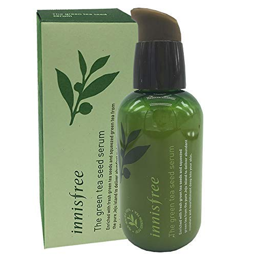 KOREAN COSMETICS, Innisfree, The green tea seed serum 80ml (water, nutrition, Essence, moisturizing strengthening)[001KR] New version/old version shipped randomly