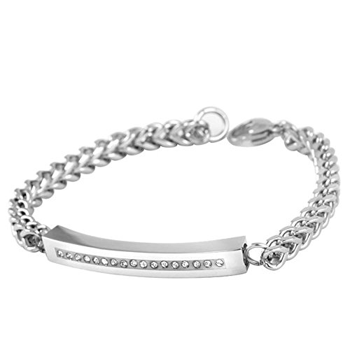 UPC 704022181371, Cremation Urn Cuff Bracelet For Ashes Stainless Steel Remembrance Memorial Jewelry