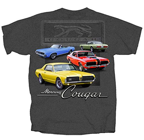 - Joe Blow Ford Maverick Mercury Cougar Graphic Short Sleeve T-Shirt-Large