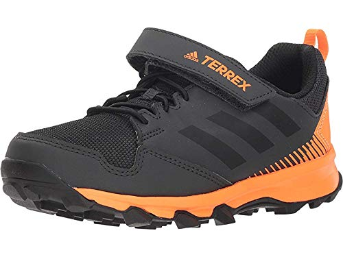 adidas Outdoor Kids Boy's Terrex Tracerocker CF (Little Kid/Big Kid) Black/Black/Black 2 M US Little Kid