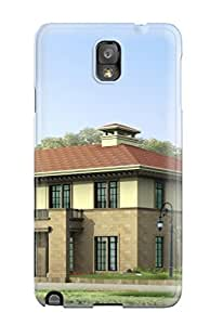 Forever Collectibles Architecture Houses Hard Snap-on Galaxy Note 3 Case