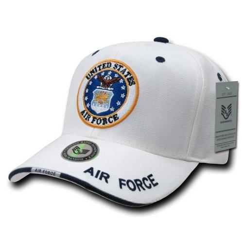 Rapiddominance Air Force White Military Cap