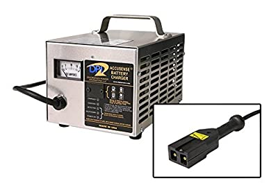 48volt 17amp Golf Cart Battery Charger with EZ-Go TXT-48V connector
