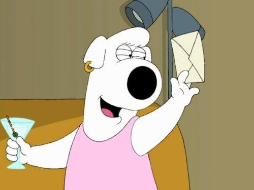 Family Guy Brian dating Visa