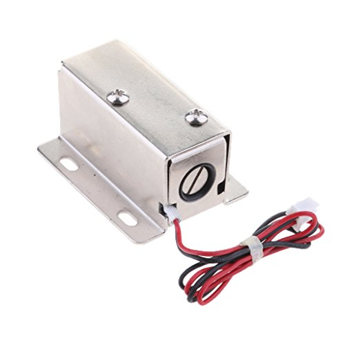 MagiDeal Premium Electrical Magnetic Lock for Doors Cabinets Gates Lockers 24V/0.52A Parts by Unknown (Image #6)