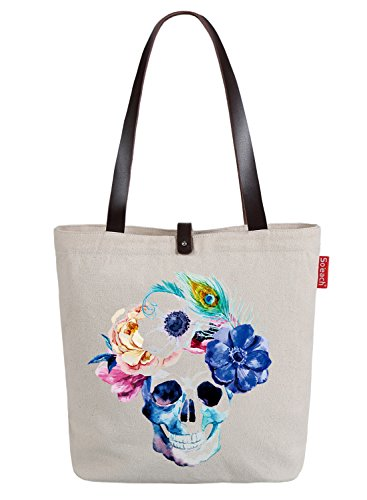 So'each Bolsa de tela y de playa, color natural (beige) - HBD-UK-ODE-56-BG color natural