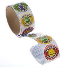 "Anti-bullying Roll of Stickers. Assorted (100 Stickers Per Roll) 1 1/2""."