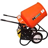 Kushlan Products 350GAS Unassembled Wheel Barrow Cement Mixer
