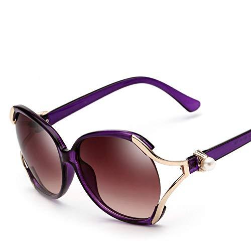 sunglasses trend frog mirror fashion sunglasses ladies big box sunglasses A106,2. Blue Floral ()