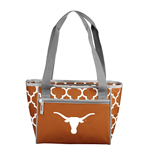 NCAA Texas Longhorns 16 Cooler Can Tote, Rust, One Size