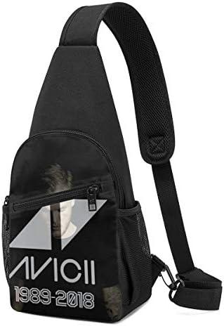 Avicii アヴィーチー ショルダーバッグ 斜めがけ 胸 かばんトートバッグ 財布 デート 旅行 ハンドバッグ トップハンドルサッチェル 面白い バッグ ショルダーベルト 防水 撥水 軽量 収納可能 男性