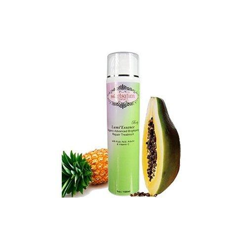 Corps Lumi'Essence Advanced Organic Brightening Traitement de réparation avec de l'acide kojique, l'arbutine et de vitamine C, 5 oz