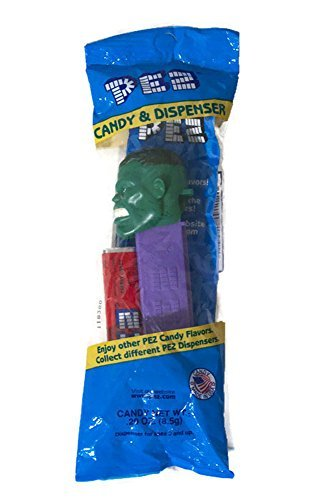 new-pez-marvel-hulk-candy-dispenser-and-1-candy-refill-by-pez-candy