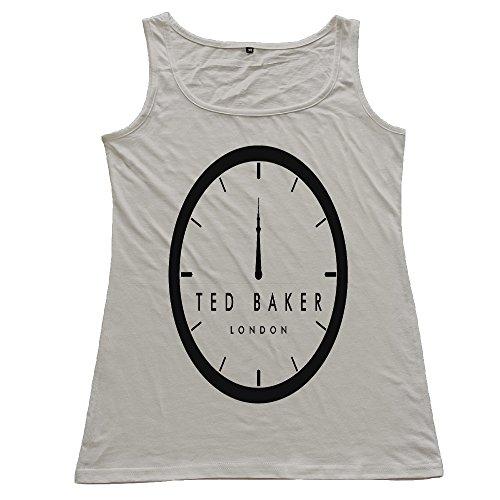 Huayuansvip Ted Baker Logo Womens T Shirt Xx Large Gray Tank Top
