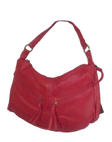 Hot 40110 Hobo Shoulder Genuine Leather Pielino Handbag Pink qTYXnw