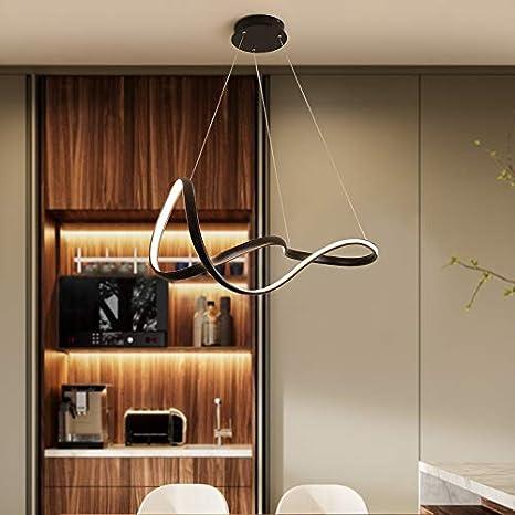 5151BuyWorld Lampe/Schwarz Weiß Moderne Led-Haupt ...