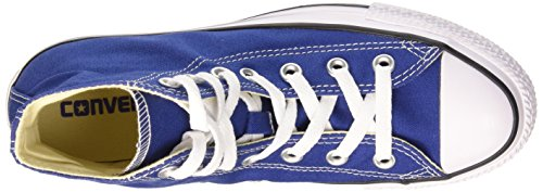Converse Unisex-Erwachsene All Star Hi Canvas Seasonal Lauflernschuhe Sneakers, Braun Blau (Roadtrip Blue/White/Black)