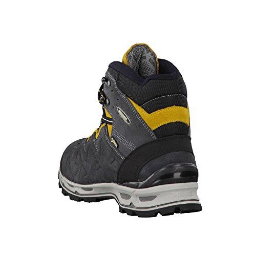 Meindl Schoenen Minnesota Per Gtx Mannen - Zwart / Geel 46