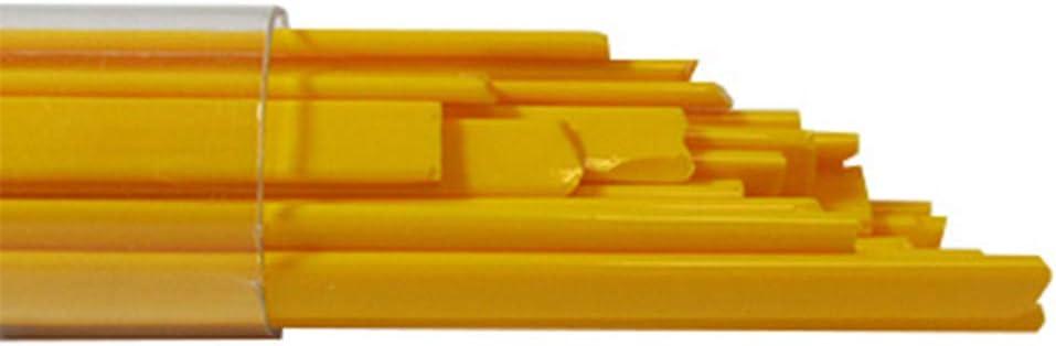 Orange Opal 96 COE Oceanside Glass Noodles