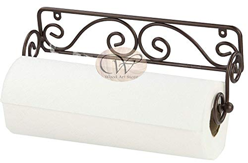 Scroll Design Wall Mounted Paper Towel Holder/Paper Roll Stand Price & Reviews
