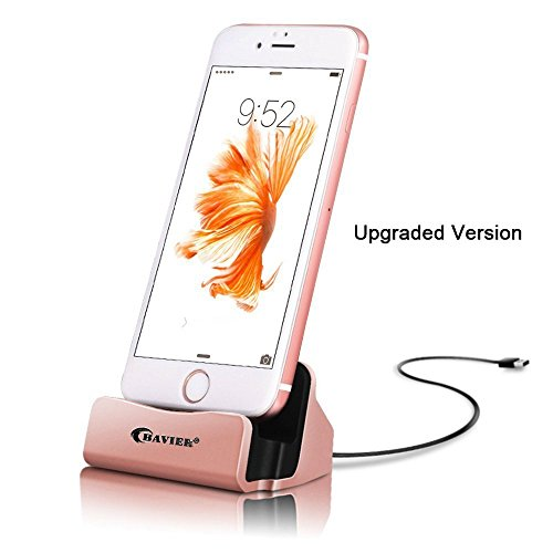 Charger BAVIER Station desktop Up Rosegold