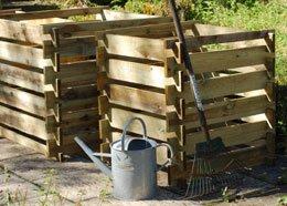 Caja de Compost - madera FSC (pequeño) (Tacho madera FSC ...