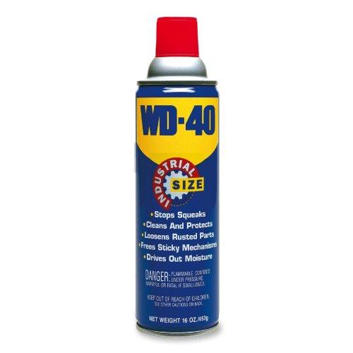 WD-40 10116 Aerosol Lubricant Spray, 16 oz Aerosol Can