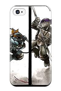 for iphone 4/4s Case Cover Tmnt In Action Case - Eco-friendly Packaging