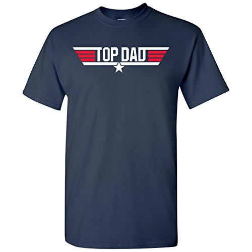 Top Dad Men's Birthday Gift T-shirt in 3 Colors - S to XXL
