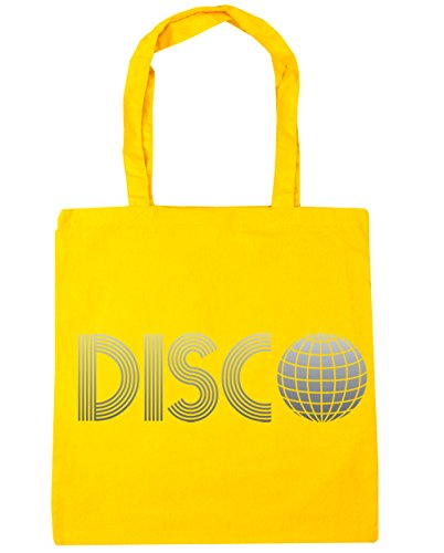 HippoWarehouse Disco bolsa de la compra bolsa de playa 42cm x38cm, 10litros amarillo