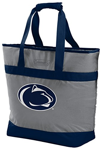 (Rawlings Coleman NCAA Soft-Side Insulated Large Tote Cooler Bag, 30-Can Capacity, Pennsylvania State Nittany Lions)
